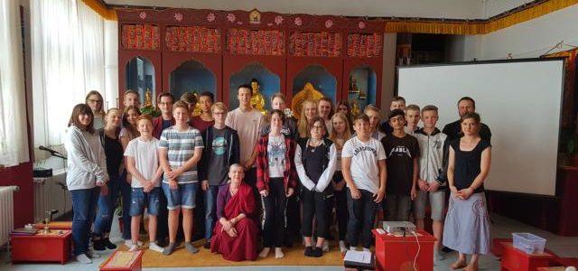 Besuch im Tibet-Zentrum Hannover