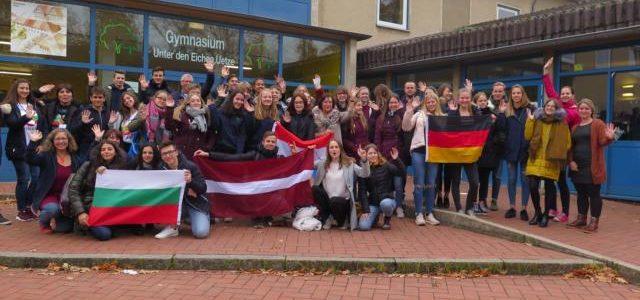 Gymnasiasten knüpfen persönliche europäische Kontakte