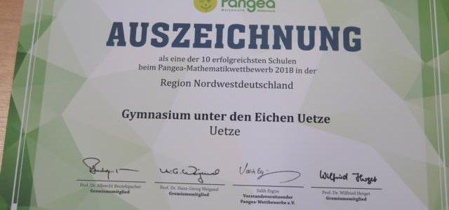 Mathe-Wettbewerb Pangea