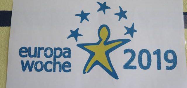 Europa-Woche an unserer Schule
