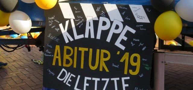 Klappe – die Letzte: Abitur 2019