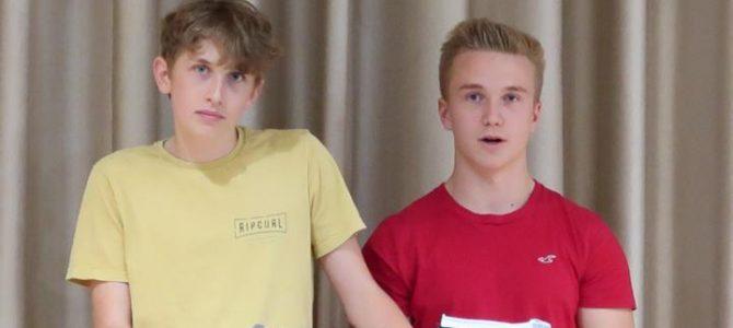 Joris und Jonas sind Schülersprecher!